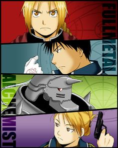 FMA: I can only hope my own characters will approach this level of awesome.