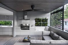 """Determine more details on """"outdoor kitchen designs layout"""". Look into our websit… Determine more details on """"outdoor kitchen designs layout"""". Look into our website. Living Pool, Outdoor Living Rooms, Modern Outdoor Living, Indoor Outdoor Kitchen, Outdoor Kitchen Design, Outdoor Kitchens, Indoor Bbq, Built In Bbq, Built Ins"""
