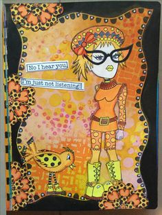 from my dylusions journal.....