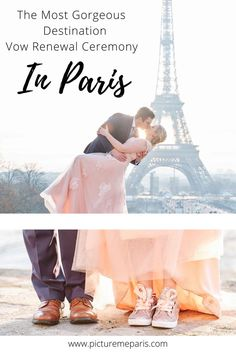 The most gorgeous notebook inspired destination vow renewal ceremony in Paris! Here's why you should renew your vows in Paris with English-speaking photographer Karina of Picture Me Paris!