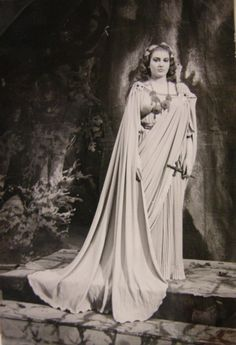 Callas as Norma at Teatro Massimo Bellini, Catania, March 1950