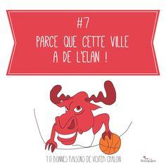 Les 10 bonnes raisons de visiter Chalon-sur-Saône : Parce que cette ville à de l'Elan