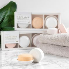 Yuzu Soap - Consumers who prefer to shower over taking a bath can now enjoy Yuzu Soap's shower tablets. The multi-use shower tablets can be placed inside. Natural Showers, Open Showers, Aromatherapy Benefits, Shower Bombs, Shower Routine, Relaxing Bath, Glycerin Soap, Fresh And Clean, Milk Soap