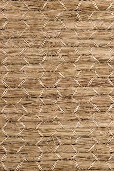 Cebu handwoven abaca rug in Nutmeg colorway, by Merida.