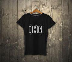 The Walking Dead Black Shirt Team Daryl Dixon