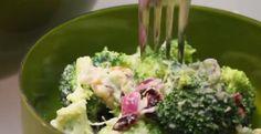 Salade de brocoli et de noix...vinaigrette rapide - Recettes - Ma Fourchette
