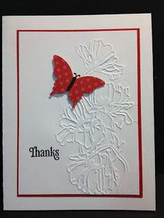 Kindness Matters, Flower Garden EF, Elegant Butterfly punch, Brights DSP, Black marker