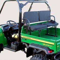 Deluxe Rumble Seat - Utility Vehicle Passenger Seat - John Deere Gator