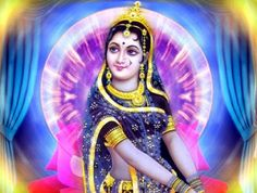 Hindu Goddess Radha- letting go temporarily or permanently of a love / coping with or causing separation