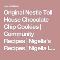 Best chocolates, Chocolate chip cookies and Chip cookies on Pinterest