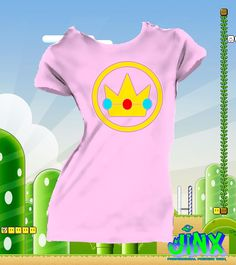 $179.00 Playera o Blusa Princesa Peach Mario Bross - Jinx Mario E Luigi, Mario Kart, Super Mario Brothers, Super Mario Bros, Princess Peach Party, Mario Birthday Party, Super Mario Party, Kids, Parties