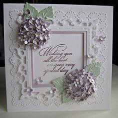 handmade card flowers - Google 検索