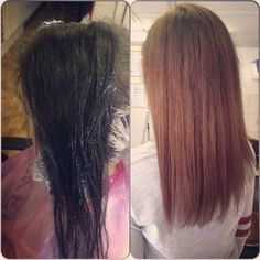 Before & after Hairstyle, Long Hair Styles, Beauty, Hair Job, Hair Style, Long Hairstyle, Hairdos, Long Haircuts, Hair Styles
