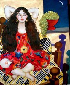Wasma Alagha. Iraqi artist.