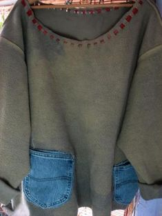 sweatshirt refashion | Refashion 'till you get it right!