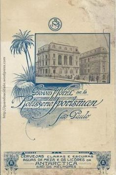Cardapio do jantar no Grand Hotel de La Rotisserie Sportsman, 11/7/1920