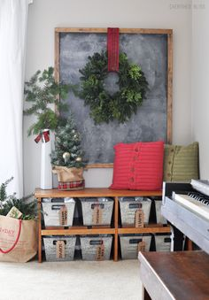 I wanted to share my favorite 65 Modern Farmhouse Christmas Decor today. I love Rustic Christmas Decor all through the year, but it's especially fun to decorate our house in Modern Farmhouse Christmas Decor with pops of plaid, wood &… Continue Reading → Christmas Entryway, Farmhouse Christmas Decor, Cozy Christmas, Modern Christmas, Country Christmas, Christmas Pictures, All Things Christmas, Farmhouse Decor, Christmas Crafts