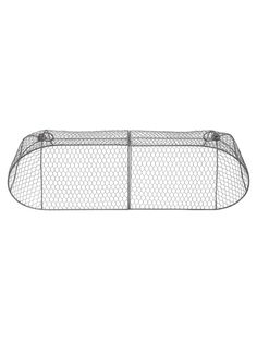 chicken wire cloche protects seedlings from nibbling wildlife. Deter pets from damaging plants. Edible Plants, Edible Garden, Deer Netting, Love Garden, Dream Garden, Garden Art, Garden Ideas, Deer Fence, Cucumber Trellis