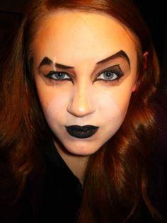 Make up ispirato a Il Re Leone
