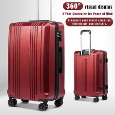 ba0c7b633 #Coolife #Luggage #Expandable #Suitcase #Abs #Piece #Set #With #Tsa #Lock  #spinners