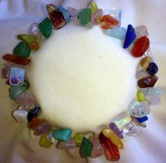 Aquamarin Amazonit Rosenquarz Jade Lapislazuli Mondstein Opal Jade Armband