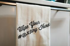 I want these towels.