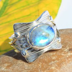 Rainbow Moonstone Two Tone Gemstone 925 Sterling Silver Jewelry Ring Size 9 Moonstone Jewelry, Gold Jewelry, Jewelry Tumblr, Silver Engagement Rings, Ring Engagement, Engraved Rings, Wholesale Jewelry, Sterling Silver Necklaces, Rainbow Moonstone