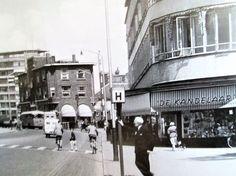 Gerrit Verboonstraat hoek Tuinlaan met de mooie winkel de Kandelaar.