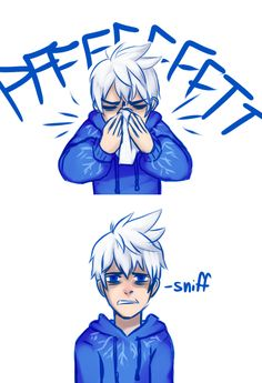 (( Headcanon that Jack gets really bad spring allergies. ))