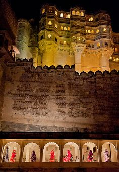 Mehrangarh Fort - Jodhpur, India. One of the most amazing places I've visited... a visit there is a must