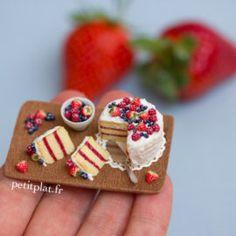Miniature Berry Cake, Stephanie Kilgast, PetitPlat