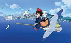 Kiki's Delivery Service. Kiki la petite sorcière | Studio Ghibli