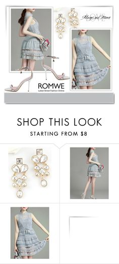 """ROMWE12/1"" by melissa995 ❤ liked on Polyvore featuring White Label"