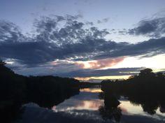 Three Rivers QC sunset