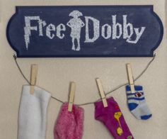 Free Dobby Sock Hanging Project