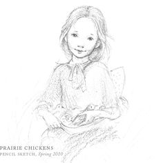 Prairie Chickens by Breezy Brookshire. This is so sweet. Talented artist.