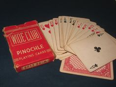 1930's Pinochle Playing Cards