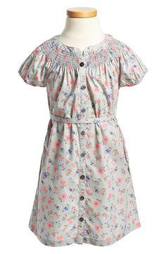 Tea Collection Smocked Shirtdress (Toddler Girls, Little Girls & Big Girls) available at #Nordstrom