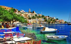 The best Greek islands, whether you're looking for sandy beaches, unspoiled island life or history and culture Greek Islands To Visit, Best Greek Islands, Greece Islands, Best Honeymoon Destinations, Travel Destinations, Greece Wallpaper, Boat Wallpaper, Bateau Pirate, World Images