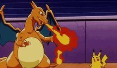 I got: Charizard! Which Pokemon Are You?