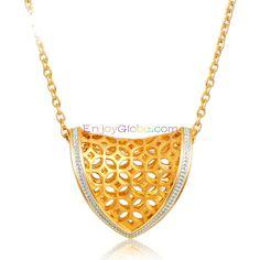 Loving Family Heart Gift Grandmother Pendant Necklace