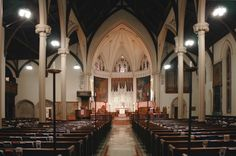 Image result for interior of episcopal church