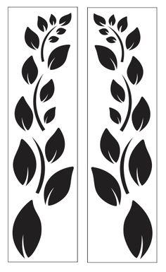 Leaf plate for gate design Stencil Patterns, Stencil Art, Stencil Designs, Paint Designs, Saree Painting, Fabric Painting, Deco Cuir, Jaali Design, Cnc Cutting Design