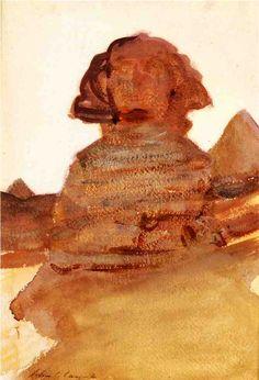 John Singer Sargent - The Sphinx