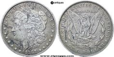 United States 1887 Morgan Dollar Coin Silver New Orleans Mint Auction start at 29th Apr, 2016 9:00:00 PM