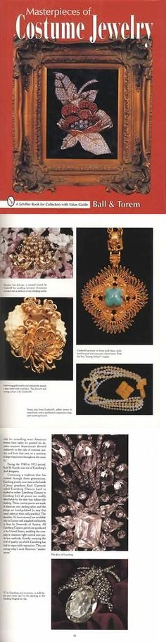 Price Guides and Publications 171122: Masterpieces Of Vintage Costume Jewelry Collector Guide Incl Signed Pieces -> BUY IT NOW ONLY: $49.95 on eBay!