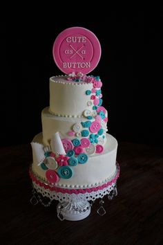 Button Cake on Cake Central
