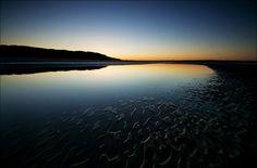'Twilight' - Llanddona Beach, Anglesey  by Kristofer Williams