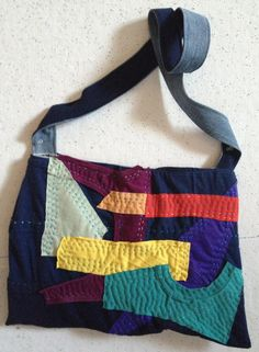 One-Of-A-Kind Shoulder Bag. $30.00, via Etsy.