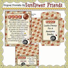 Bowler Lucky Penny Card & Envelope Set